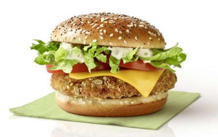 Neues Veggie-Sortiment bei McDonald's Österreich