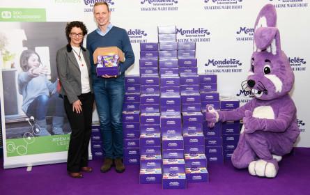 Mondelēz International macht eine lila Osterfreude