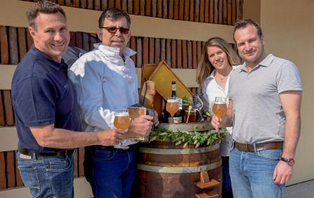 Bienen ziehen in der Brauerei Hirt ein