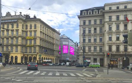 Werbewand Wien bringt neue Standorte in Wien
