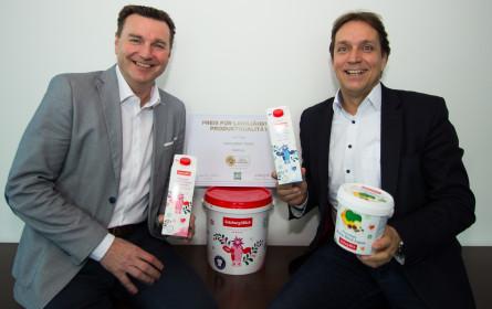 DLG zeichnet SalzburgMilch-Produkte aus