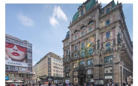 Wiener City-Toplage Goldenes H: Geschäftsmieten weltweit unter Top 10
