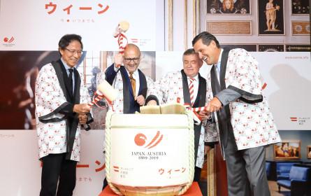 150 Jahre Japan-Österreich mit Wien-Schwerpunkt