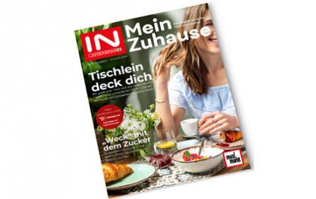 """""""Mein Zuhause"""", das Magazin für Küche, Tisch und Haushalt"""