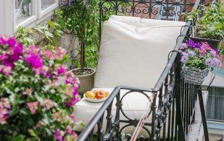 bellaflora bringt Gartenparadies auf den Balkon