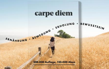 """Magazin """"carpe diem"""" - Zeit für ein gutes Leben"""