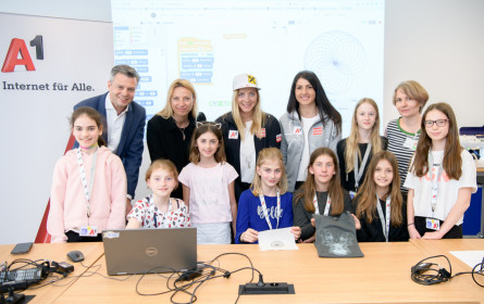 Töchtertag bei A1 begeistert 100 Mädchen