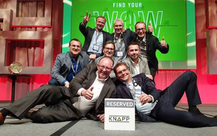 Knapp gewinnt US Innovation Award