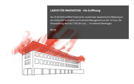 Labor für Innovation: Hightech-Werkstatt eröffnet an TU Graz