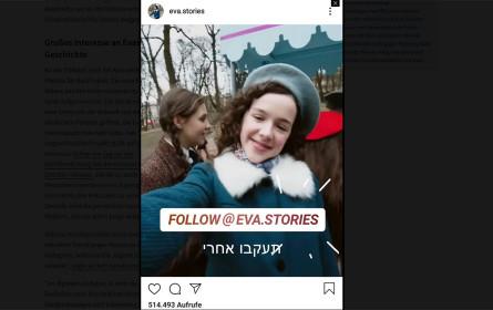 """Neue Form des Holocaust-Gedenkens: """"Evas Story"""" auf Instagram"""