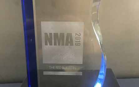 Begehrter Award für das Red Bull Media House
