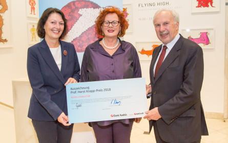 """Kurier""-Journalistin Andrea Hodoschek erhielt Horst-Knapp-Preis 2018"