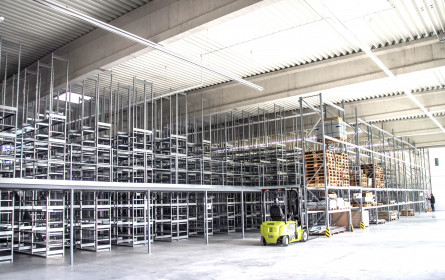 Wieder starkes Jahr für Logistik-Immobilien