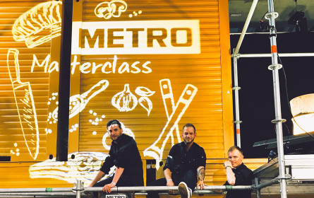 Metro bei den Rolling Pin Chefdays in Graz