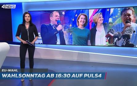 Puls 4 und ATV beenden den Wahl-Tag zur EU-Wahl-Berichterstattung mit erfolgreichen Quoten