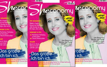 """""""Sheconomy"""": Neues Wirtschaftsmagazin für Frauen"""