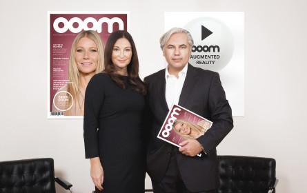 OOOM präsentiert erstes High-end-Magazin mit Augmented Reality