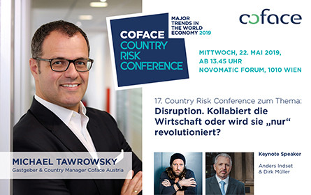 Disruption – Die Country Risk Conference von Coface