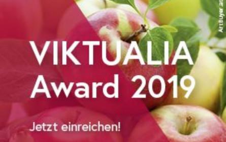 "Ausschreibung des ""Viktualia Award 2019"""