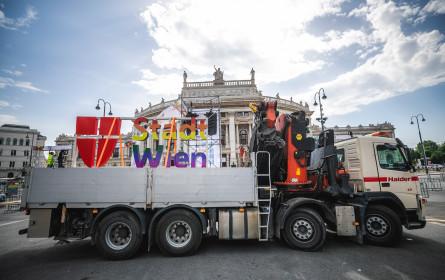 Stadt Wien bekommt Riesensitzinsel