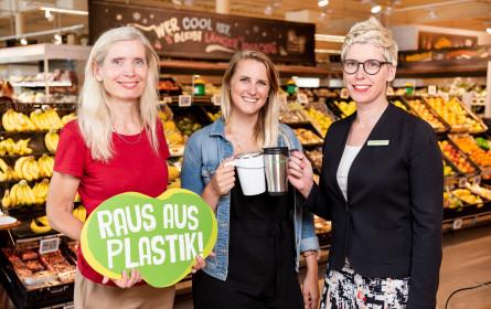 """""""Raus aus Plastik"""": Rewe startet Ideenwettbewerb"""