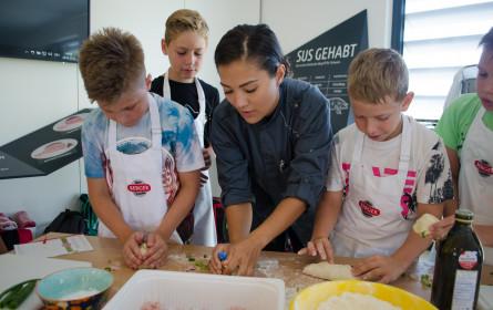 """Berger Schinken lud zum ersten """"Kochkurs für Minis"""" ein"""