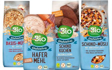 Neue glutenfreie dmBio Produktlinie