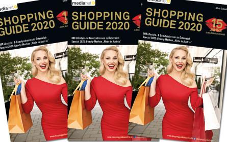 Jubiläumsausgabe: 15 Jahre Shopping Guide