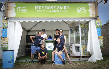 """Jede Dose zählt"" sammelt 50.000 Dosen am Electric Love Festival"