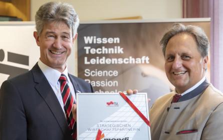 TU Graz und Mondi begründen  Partnerschaft