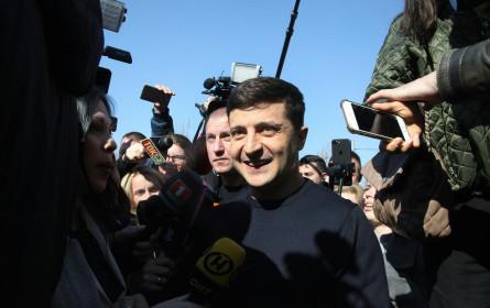 Ukraine-Wahl - Reporter ohne Grenzen fordert Schutz von Journalisten
