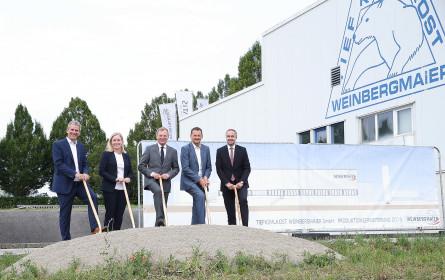 Weinbergmaier erweitert Produktion in Wolfern