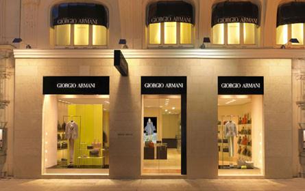 Umsatz- und Gewinnrückgang bei Armani