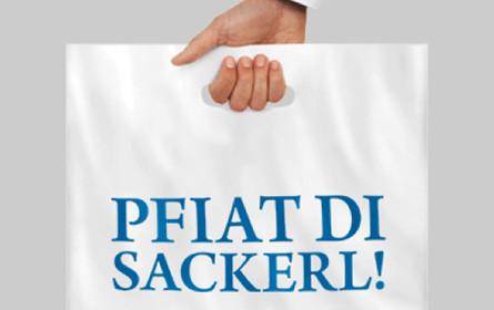 """""""Pfiat di Sackerl"""": 155 Mio. Kunststofftragetaschen eingespart"""