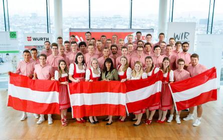 """WKÖ entsendet 46 junge Fachkräfte zur """"WorldSkills Kazan 2019"""""""