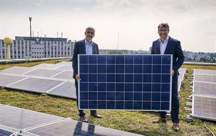 Donau Zentrum: Größte Photovoltaik-Anlage Wiens