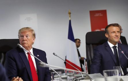 G-7-Gipfel - Trump lobte bisherige Treffen - Kritik an Medien