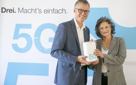 Drei stattet erste Stadt Österreichs vollständig mit 5G aus