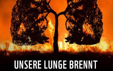 """""""Unsere Lunge brennt"""" – neues Sujet von WWF und Agentur Traktor gegen das Wegschauen"""