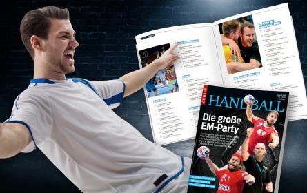 """""""Kurier"""" bringt Magazin """"Handball"""" zur EM 2020"""