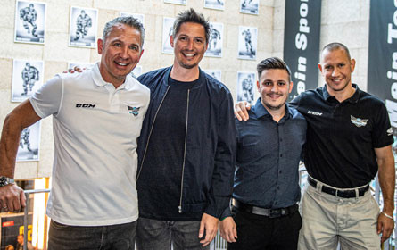 Know to Grow: Das Leondinger Start-up Frux kooperiert mit den Black Wings Juniors