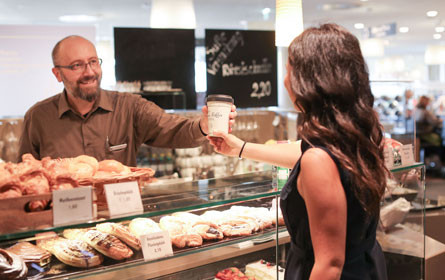 Interspar: Kaffee im eigenen Becher