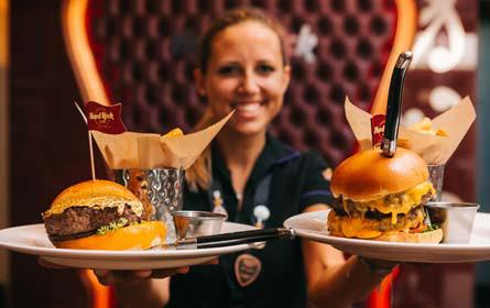 Hard Rock Cafe Vienna feiert 5. Geburtstag