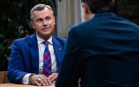 """ORF-""""Sommergespräch"""" mit FPÖ-Chef Hofer sahen 807.000 Zuschauer"""
