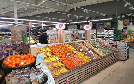 Ansfelden: Merkur-Markt wiedereröffnet