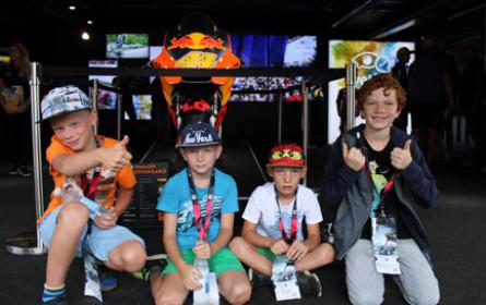 Ein unvergessliches MotoGP‐Rennen für 25 Kinder