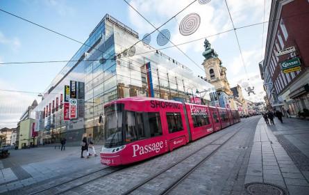 Eigentümerwechsel bei Einkaufszentrum Passage in Linz