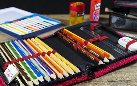 Der Papier- und Schreibwarenfachhandel ist bereit: Der Schulbeginn kann kommen.