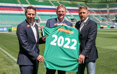 Wien Energie bleibt bis 2022 Hauptpartner des SK Rapid