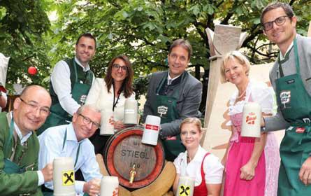 """Stiegl: Herbstgold ist offizielles """"Bauernherbstbier"""""""